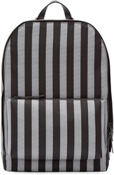 3.1 Phillip Lim Black And White Nylon Striped 41 Hour Backpack