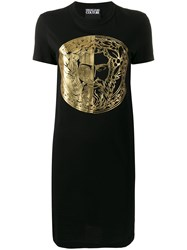 Versace Jeans Couture Foil Print T Shirt Dress 60