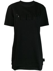 Philipp Plein Logo T Shirt Dress Black