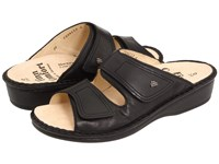Finn Comfort Jamaica 82519 Black Nappa Soft Footbed Women's Slide Shoes