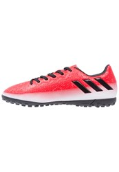 Adidas Performance Messi 16.4 Tf Astro Turf Trainers Red Core Black White