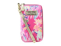 Lilly Pulitzer Tiki Palm Phone Dragonfruit Pink Sunken Treasure Cell Phone Case