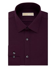 Michael Michael Kors Cotton Dress Shirt Cordovan