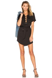 L'academie The Safari Dress Black
