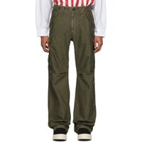 Visvim Green Eiger Sanction Cargo Pants