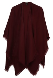 Reiss Tally Cape Bordeaux
