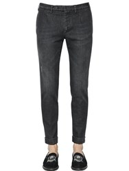 Gabriele Pasini 18Cm Washed Stretch Cotton Denim Pants