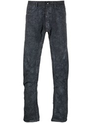 Isaac Sellam Experience Textured Distressed Style Trousers 60