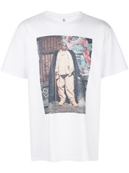 R 13 R13 Photographic T Shirt White