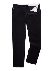 Linea Men's Beauvais Cord Trouser Navy