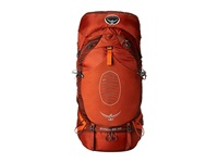 Osprey Atmos 65 Anti Gravity Cinnabar Red Backpack Bags Orange