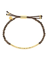 Gorjana Smoky Quartz Grounding Bracelet Gold Smoky Quartz