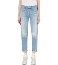 Citizens Of Humanity Liya Straight High Rise Jeans Torn