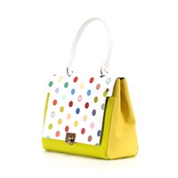 Ozerianko Bags Dots Lime Green Big Bag