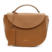 3.1 Phillip Lim Tan Hudson Top Handle Satchel Bag