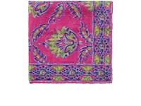 Ralph Lauren Purple Label Men's Floral Silk Pocket Square Pink