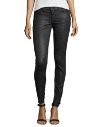 True Religion Casey Low Rise Super Skinny Brocade Jeans Bhxd