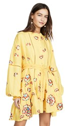 All Things Mochi Valentina Dress Yellow