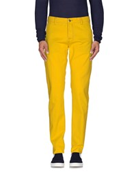 Pt05 Denim Denim Trousers Men Yellow