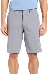 Travis Mathew Beck Stretch Performance Shorts Light Grey