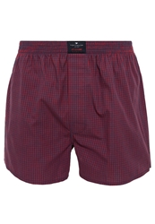 Tom Tailor College Sports Boxer Shorts Cardinal Red