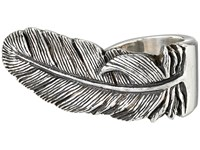 King Baby Studio Raven Feather Ring Silver Ring