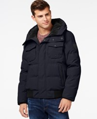 Guess Hooded Snorkel Jacket Navy