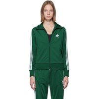 Adidas Originals Green Firebird Zip Up Sweater