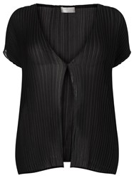 Windsmoor Crinkle Cover Up Black