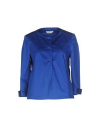Biancoghiaccio Suits And Jackets Blazers Bright Blue