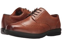 Nunn Bush Maclin Street Wing Tip Oxford With Kore Slip Resistant Walking Comfort Technology Tan Lace Up Wing Tip Shoes