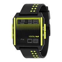 Vestal Digichord Watch Black Yellow