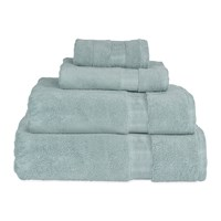 Dkny Mercer Plain Dye Towel Mist Green