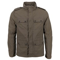 Lords Of Harlech Sergeant Jacket In Olive Green