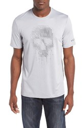 Under Armour Men's Run Graphic Skull T Shirt