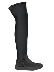 Bb Bruno Bordese Washed 20Mm Suede Over The Knee Boots