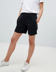 Fred Perry Track Short With Logo Tape Detail Black