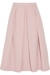 Iris And Ink Clara Crepe Midi Skirt