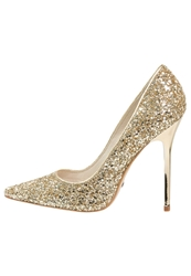 Buffalo High Heels Gold