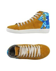 Springa Footwear High Tops And Trainers Women Ochre