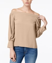 Bar Iii Off The Shoulder Top Only At Macy's Ballet Pink