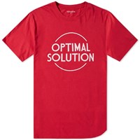 Nonnative Optimal Solution Tee Red