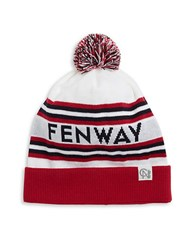 Tuck Shop Co. Fenway Knit Hat White