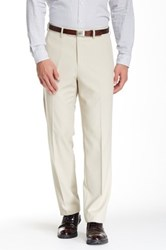 Tailorbyrd Flat Front Pant 30 34' Inseam Beige