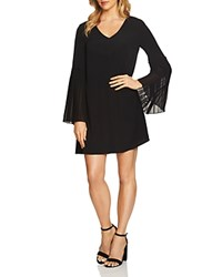Cynthia Steffe Cece By Madeline Pleated Dress Rich Black