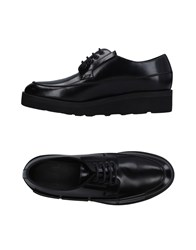 Oamc Lace Up Shoes Black