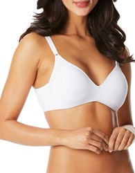 Warner's Cloud 9 Wirefree Lift Bra White