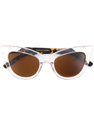 Pared Eyewear Puss And Boots Sunglasses Women Plastic One Size Nude Neutrals