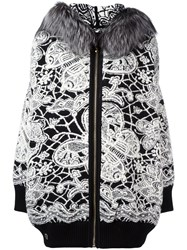Philipp Plein 'Freesia' Knit Coat