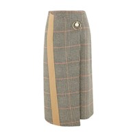 Coliac Prince Of Wales Wrap Skirt Prince De Galles